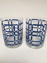 Georges Briard Vintage Double Old Fashioned Rocks Glasses Signed