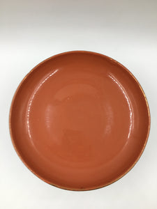 Mid Century Italian Ceramic Footed Bowl