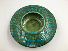 Vintage Blue & Green Freeman McFarlin Ceramic Planter