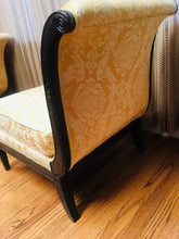 Hollywood Regency Vintage Slipper Chair