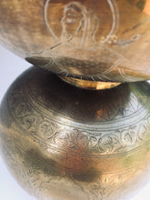 Vintage Brass Tibetan Holy Water Pot
