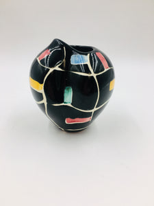 German Schmider Heart or Butt Vase by Anneliese Beckh, 1956