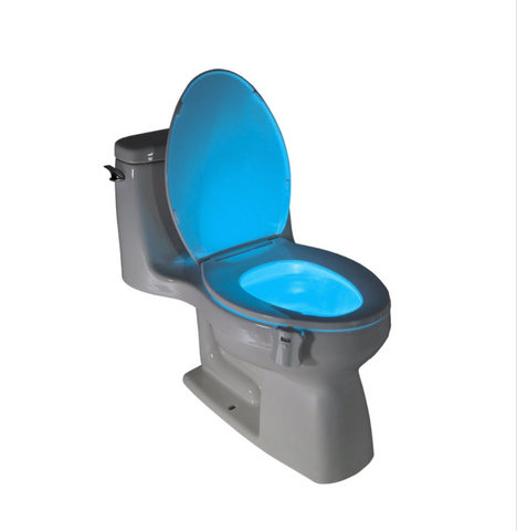 Motion Activated Toilet Nightlight - FREE Shipping!