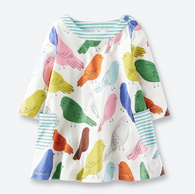 Printed Birds Dresses