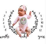 Milestone Blanket Photo Prop