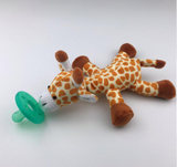 Comfort toy with soother