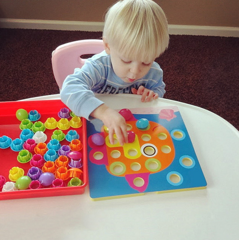 3D Puzzle for Little Hands