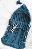 Knitted Sleeping Bag * Great for Carrycots*