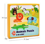 Puzzles *6 in a box* beautifully illustrated