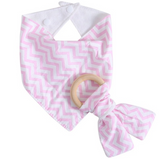 Dribble bib and Teething Ring *FREE*  JUST PAY SHIPPING!