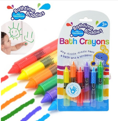 Bathtime Crayons  *FREE*  JUST PAY SHIPPING