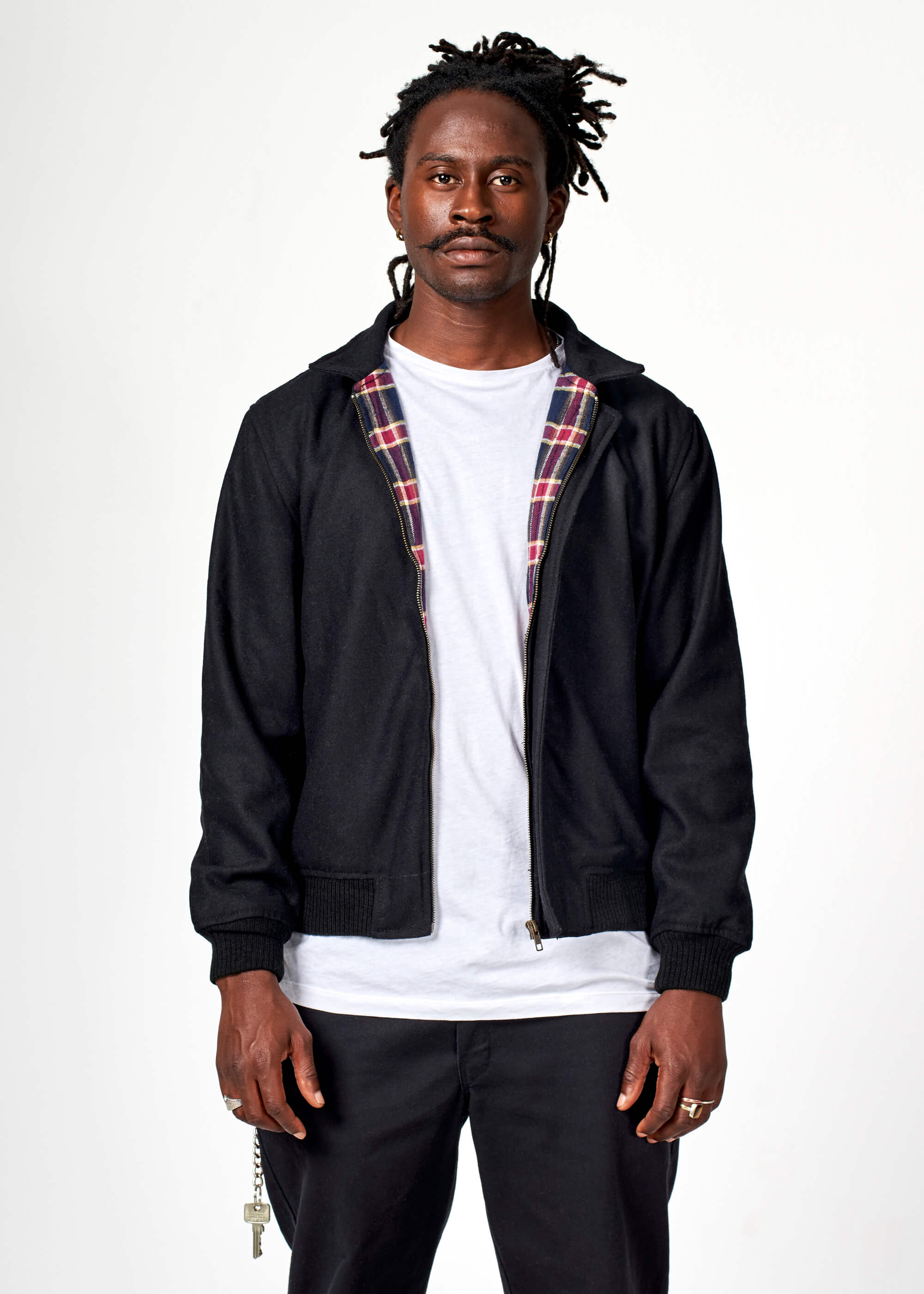 TY04 / Harrington Wool Bomber
