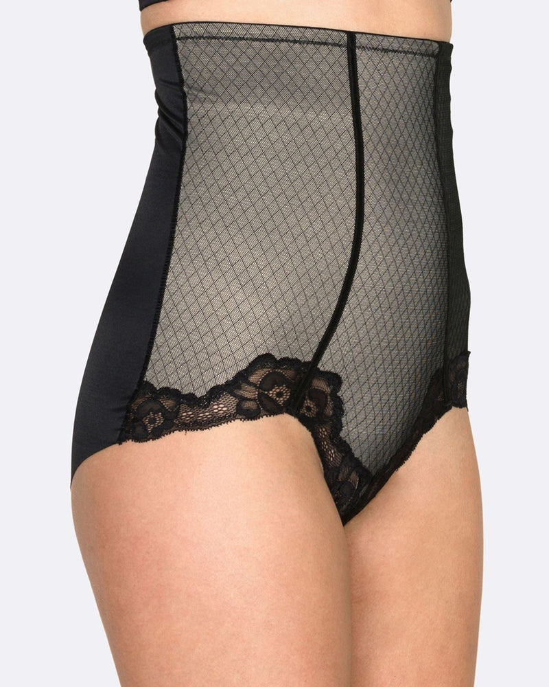 Hush Hush Whisper Firm Control High Waist Brief HH007
