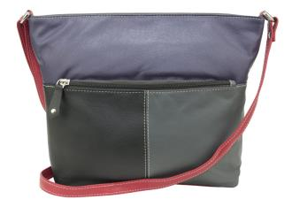 Franco Bonini- Black Multi Shoulder Bag