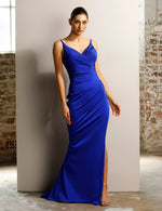 Jadore - JX1027 (Available Cobalt, Ivory, Black & Red)