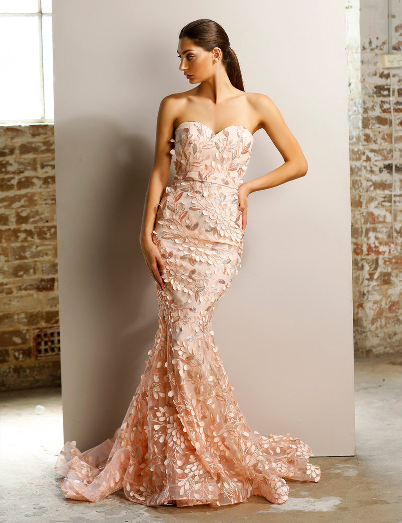Jadore - JX1097 (Available in Champagne, Pink, Ivory and Black/Nude)