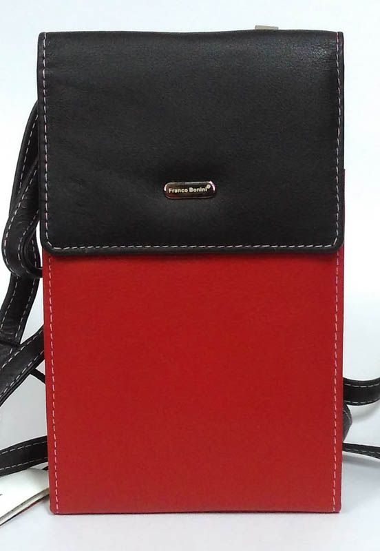 Franco Bonini - Ladies String Wallet Black Multi 17-06
