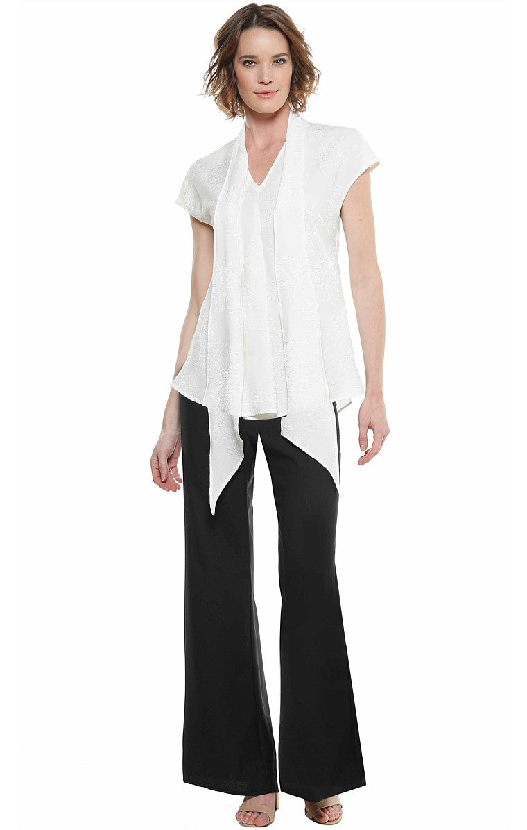 Sacha Drake Crawford Drop tie blouse