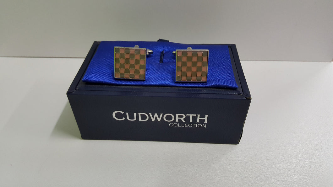 Cudworth Collection Square Cuff Link
