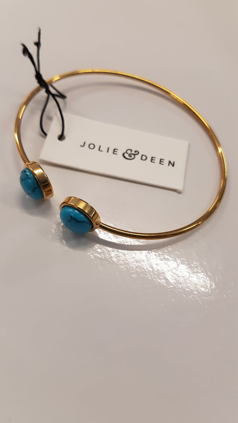 Jolie & Deen Aqua bracelet in Silver or Gold