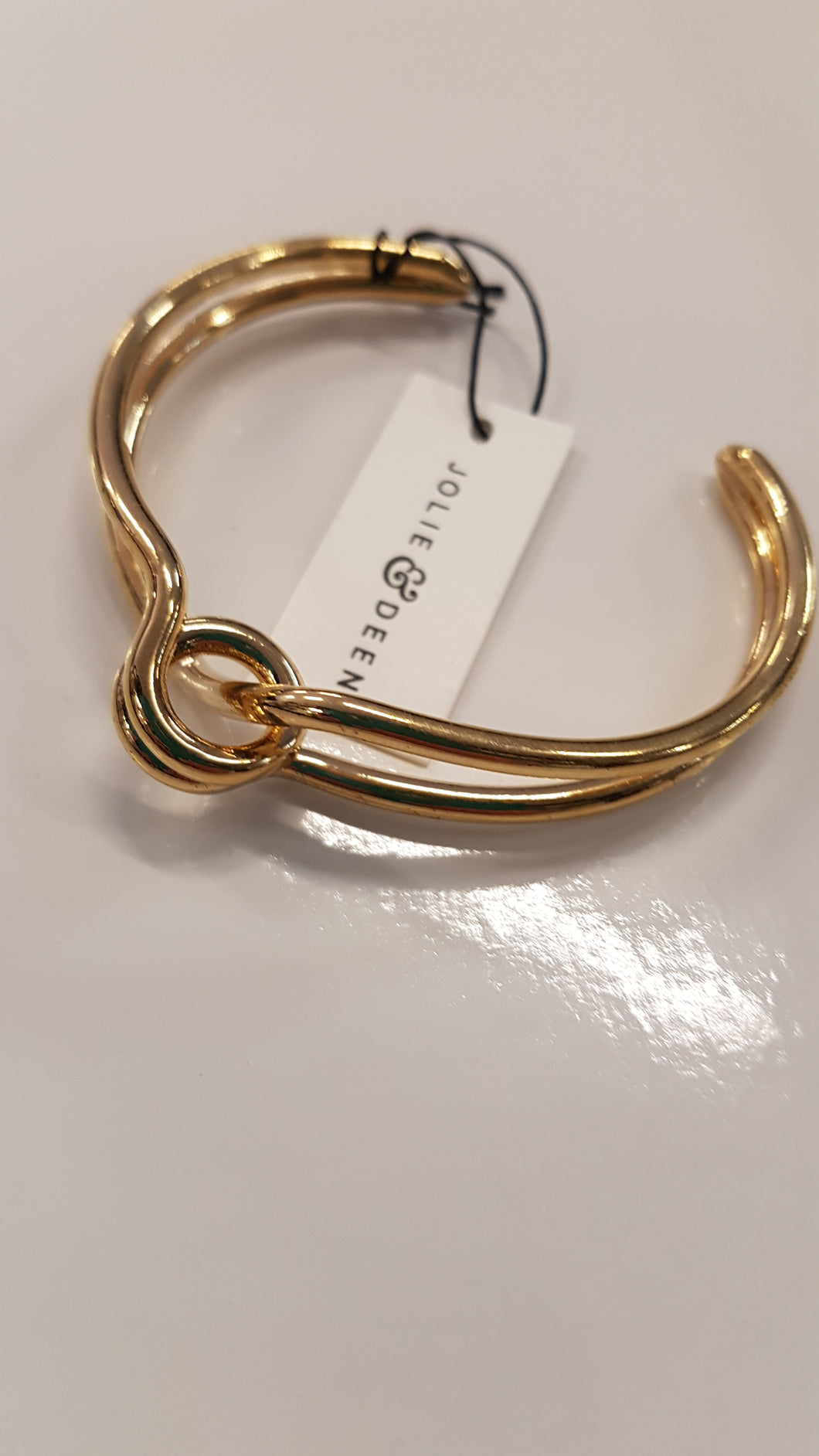 Jolie & Deen Knotted Cuff in Silver or Gold