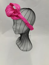 MC Millinery Pink Abaca Turban