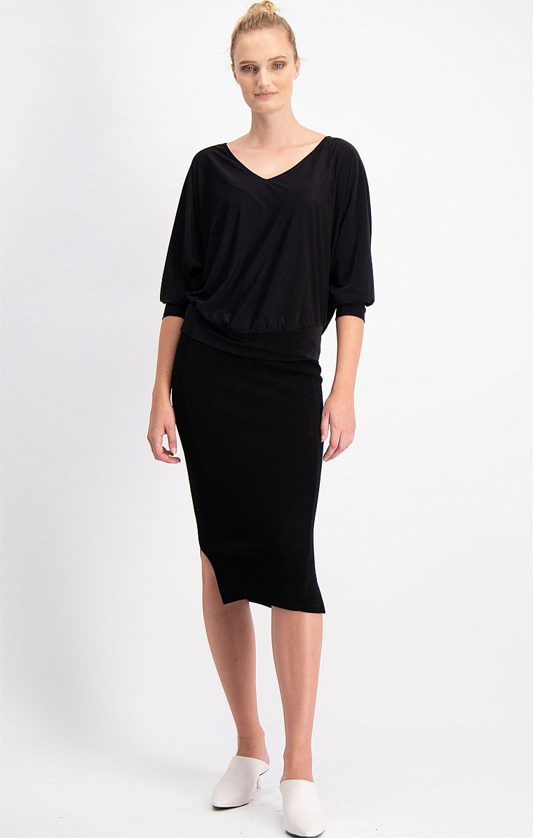 Sacha Drake Bertie Top in Black