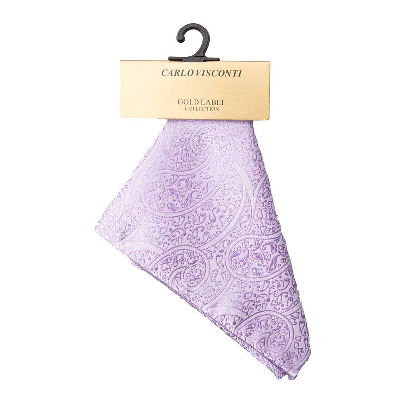 Pocket Square Paisley pattern to match Tie