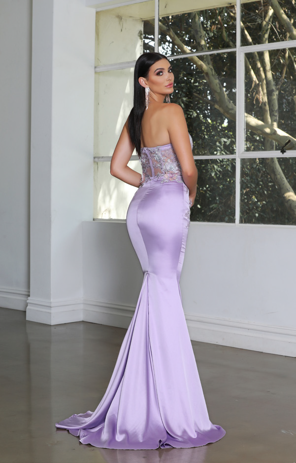Jadore - JX4004 (Available in Teal, Lilac and Maroon)