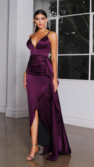 Jadore - JX4044 (Available in Cobalt, Gold, Plum and Dark Green