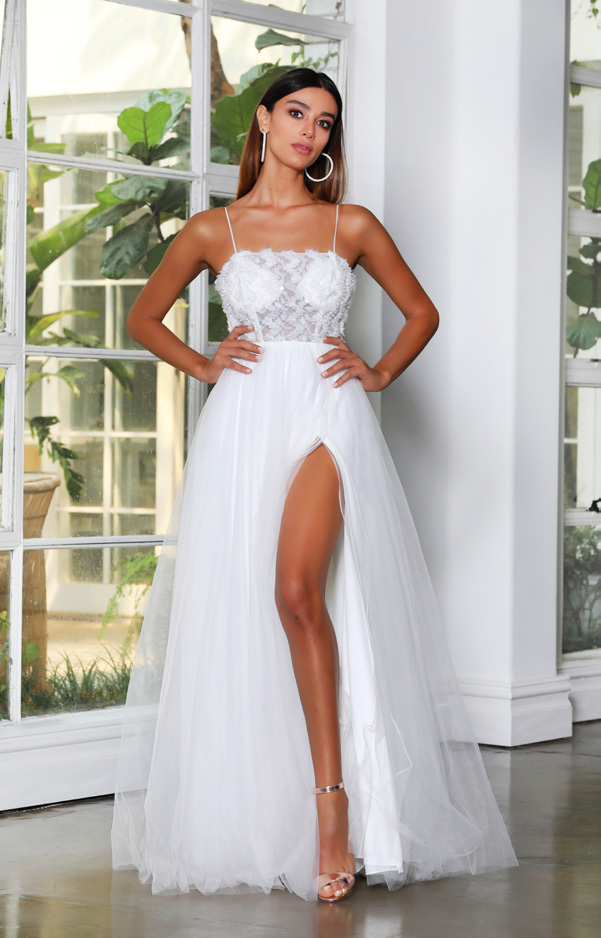Jadore - JX4057 (Available in Ivory, Black or Champagne)