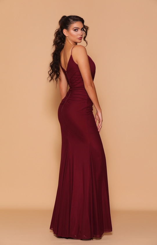 Les Demoiselle - LD1096 (Available in Stock colour Wine & Black, can be colour changed  into 24 colours)