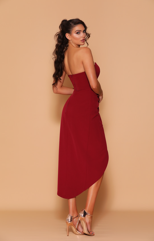 Les Demoiselle - LD1131 (Available in Stock colours Wine, Ivory & Black, can be colour changed into 19 colours)