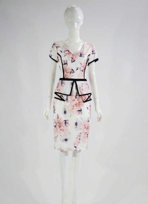Barclay Street Pink Print dress BAPM420101