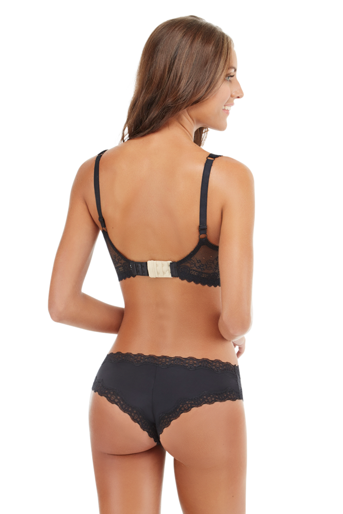 Secret Weapons 4 Hook Bra Extender in Nude