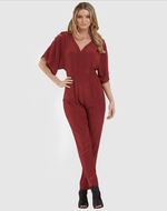 Amelius Sienna Jumpsuit in Rust