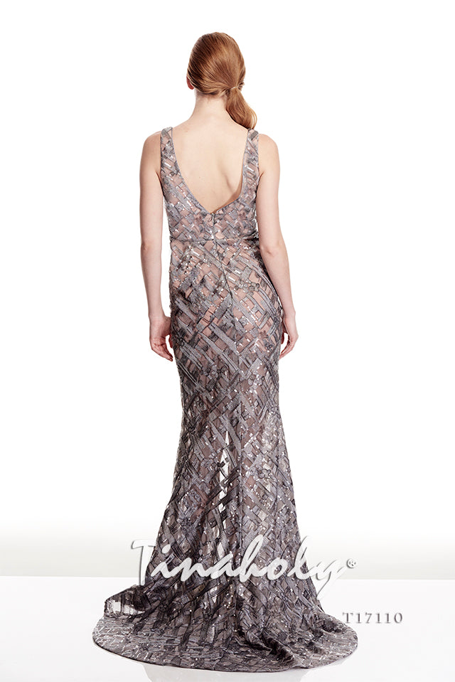 Tinaholy - T17110 Grey/Nude
