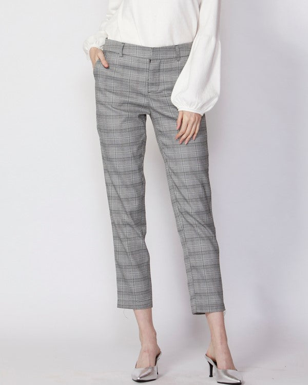 Fate Eagle Rock Slim Plaid Pant