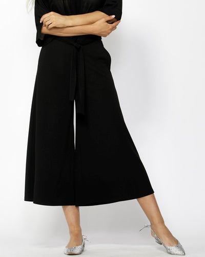 Fate White Noise Wide Leg Pants in Black