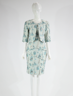 Barclay Street Mint Green dress with cropped jacket BACB320116