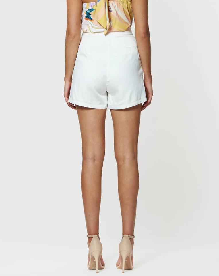 Amelius Calvin Short in White