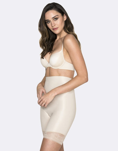 Hush Hush Essensual Firm Control High Waist Thigh Shaper HH016