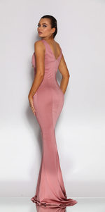 Jadore - JX2036 (Available in Dusty Rose, Dark Green and Navy)
