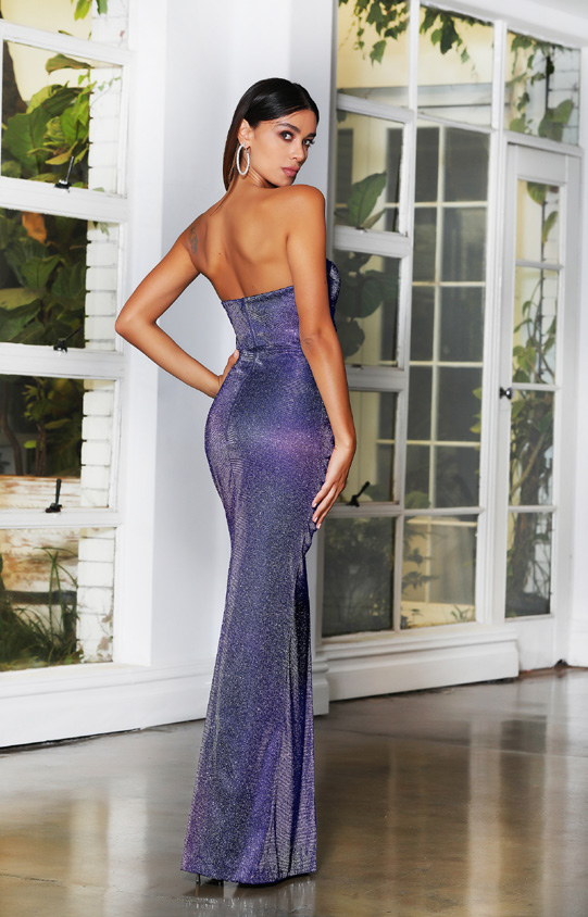 Jadore - JX4078 (Available in Gold, Navy and Lilac)
