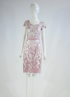 Barclay Street Pink and White lace dress with cropped jacket BALS420114