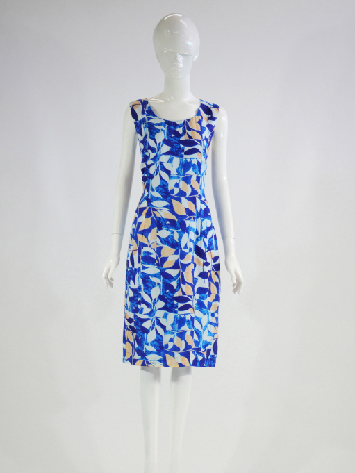 Barclay Street Blue print dress and jacket set BALS420120