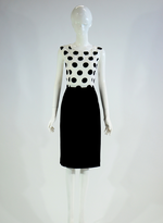 Barclay Street Black and white dress and jacket set BALS420122