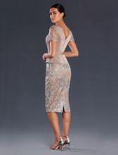 White Label Lux Couture - M1006 Mother of the Bride, Cocktail, Evening