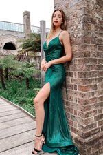 Tinaholly - TA821 Emerald green gown
