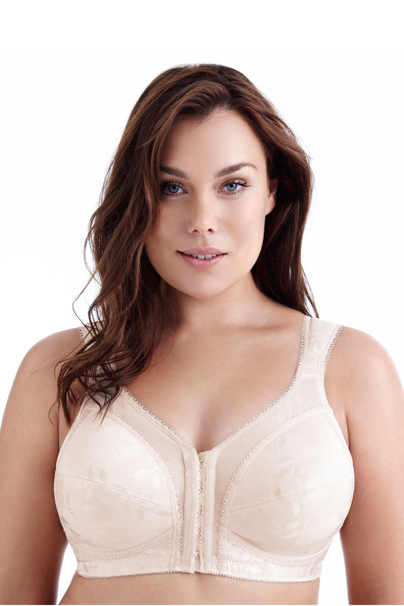 Playtex Wire free front fastening 18 hr bra P4695 - In Nude ONLY
